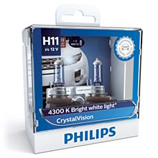 12362CVSM CrystalVision Bola lampu depan
