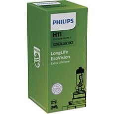 12362LLECOC1 -   LongLife EcoVision car headlight bulb