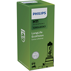 12362LLECOC1 LongLife EcoVision lâmpadas para faróis automotivos
