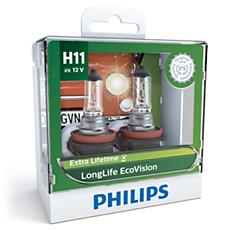 12362LLECOS2 LongLife EcoVision ヘッドランプ用 LED バルブ