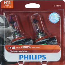 12362XVB2 -   X-tremeVision upgrade headlight bulb