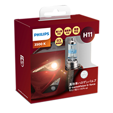 12362XVGS2 X-tremeVision G-force car headlight bulb