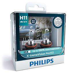 X-tremeVision Pro150 car headlight bulb