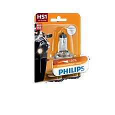 12636B1 PremiumVision Moto Headlight bulb