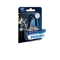 BlueVision Moto Headlight bulb