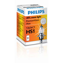 PremiumVision Moto Headlight bulb