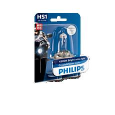 12636CVB1 CrystalVision Moto Headlight bulb