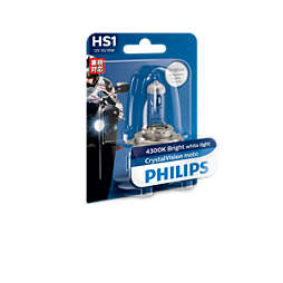 CrystalVision Moto Headlight bulb