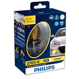 X-tremeUltinon LED Bola lampu kabut