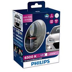 X-tremeUltinon LED لمبة مصابيح الضباب للسيارة