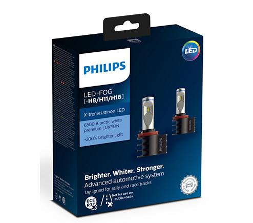 X Tremeultinon Led Car Fog Light Bulb 12794unix2 Philips
