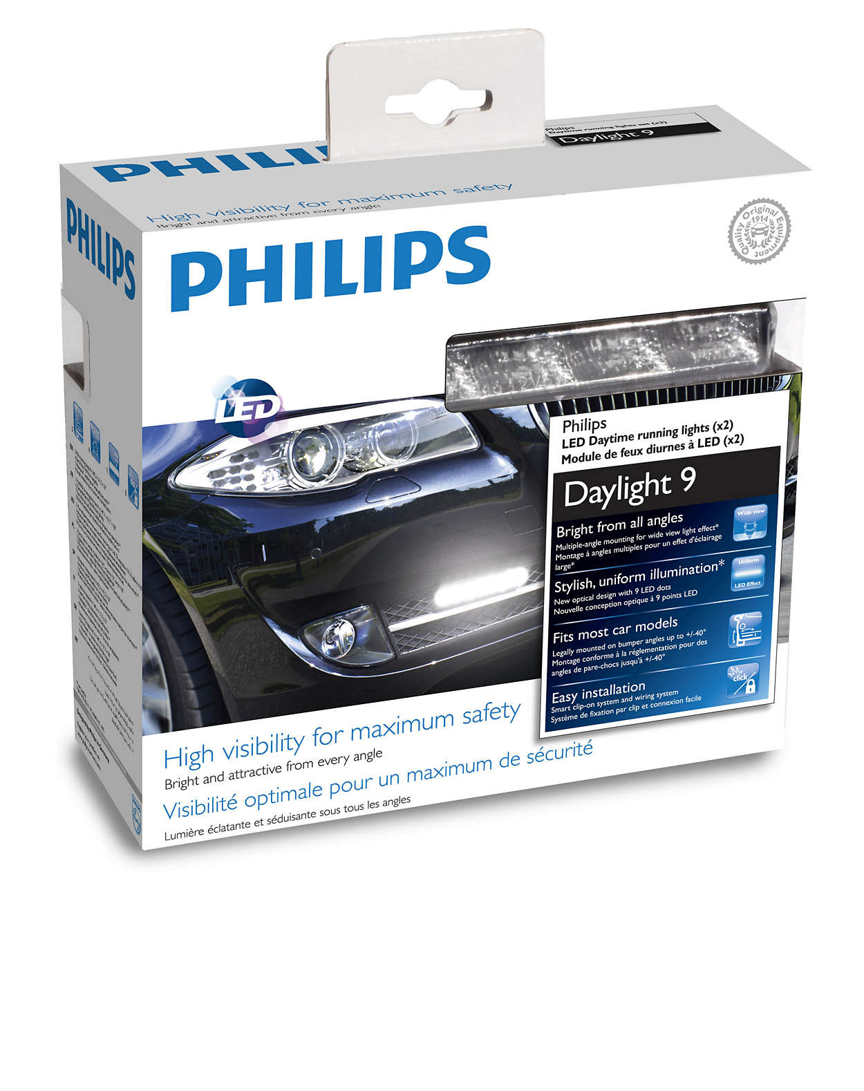 Daylight 9 Led Daytime Running Lights 12831wledx1 Philips Wiring Drl Download Image 0 1