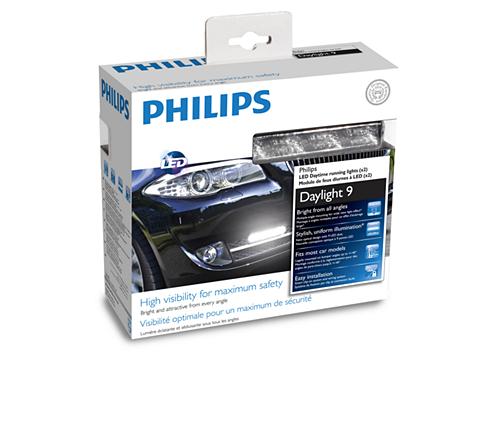 56f5a1c0e84 DayLight 9 LED Daytime running lights 12831WLEDX1 | Philips