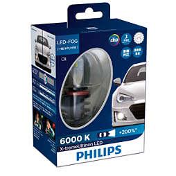 X-tremeUltinon LED Ampoule de phare antibrouillard pour la voiture