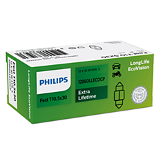 12860LLECOCP -   LongLife EcoVision interior and signaling bulb