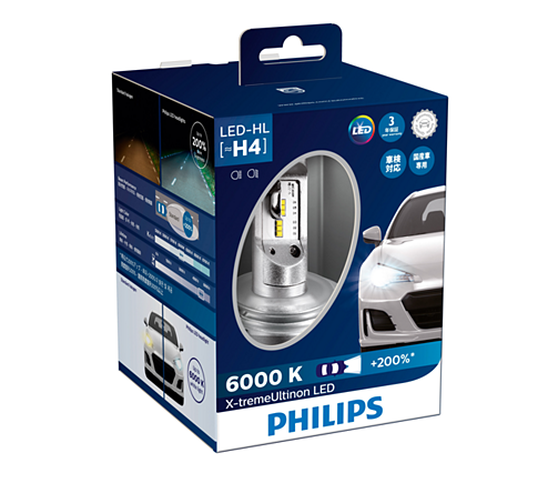 x treme ultinon led headlight bulb 12953bwx2 philips. Black Bedroom Furniture Sets. Home Design Ideas