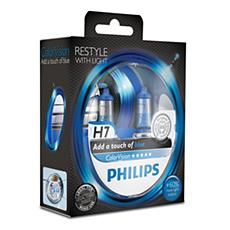 12972CVPBS2 -   ColorVision Blue car headlight bulb