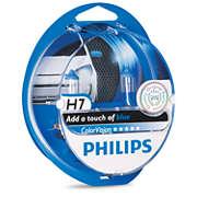 ColorVision Blue car headlight bulb