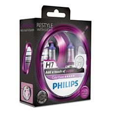 12972CVPPS2 -   ColorVision Lâmpada roxa para faróis de automóveis