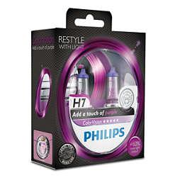 ColorVision Пурпурова лампа для передніх фар