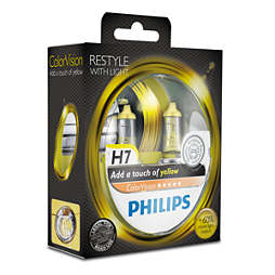 ColorVision Lampe automobile, jaune