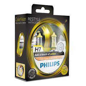 ColorVision Gele autolamp