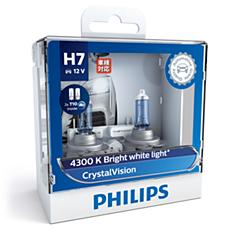 12972CVSL CrystalVision car headlight bulb