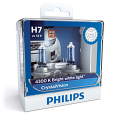 12972CVSM -   CrystalVision หลอดไฟหน้า
