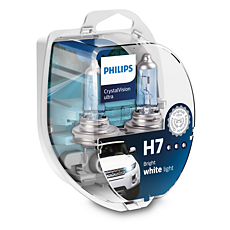 12972CVUSM CrystalVision ultra lâmpadas para faróis automotivos