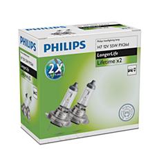 12972ELC2 -   LongerLife x2 Fahrzeugscheinwerferlampe