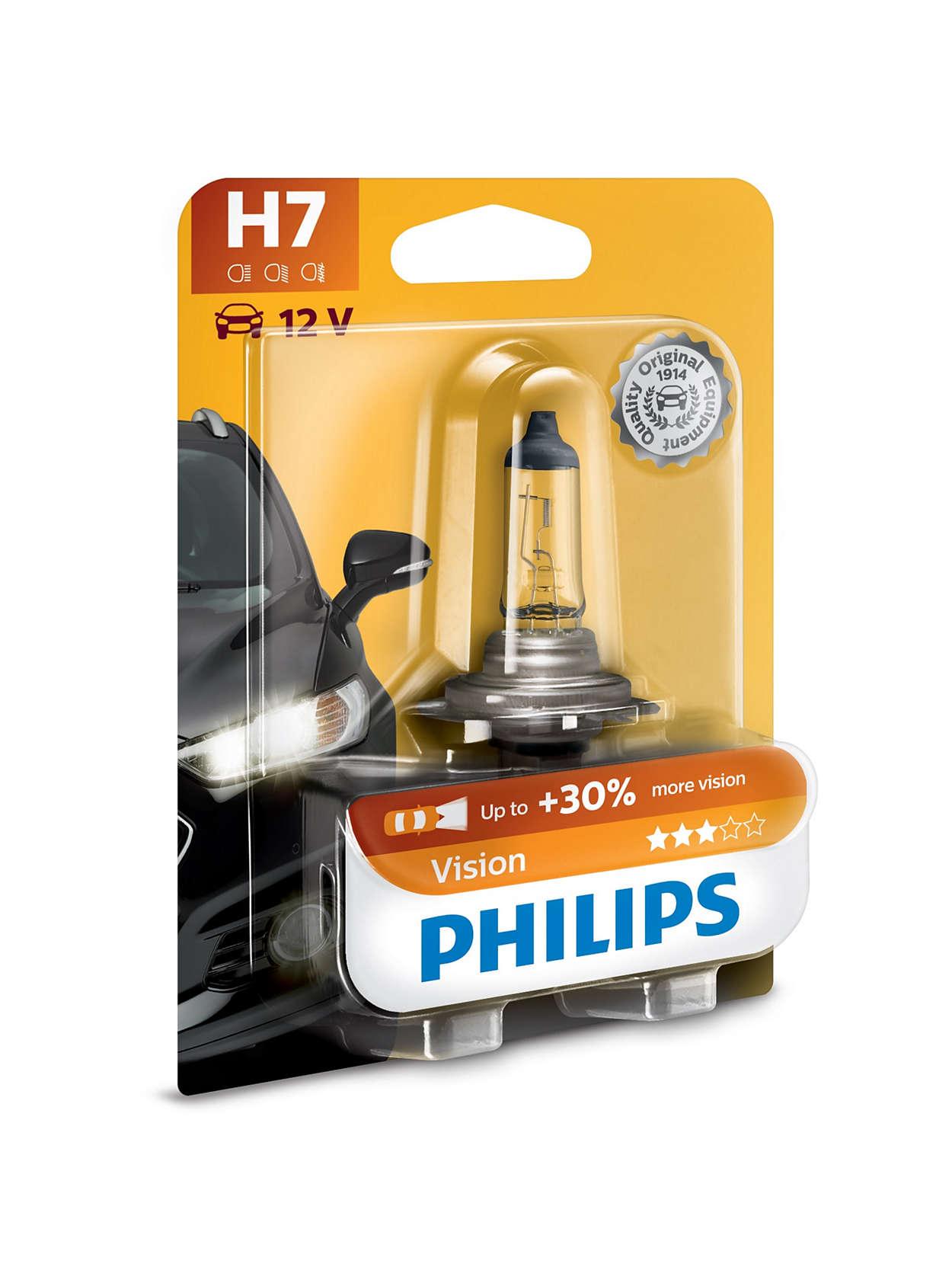 Vision car headlight bulb prb philips