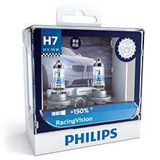 12972RVS2 RacingVision car headlight bulb