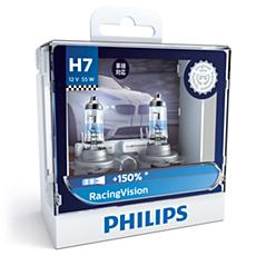 12972RVS2 RacingVision car headlight bulb