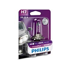12972VPB1 VisionPlus Bombillas para faros delanteros de vehículos