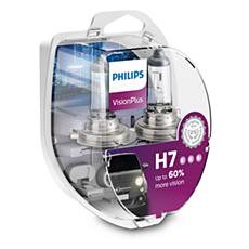 12972VPS2 VisionPlus car headlight bulb