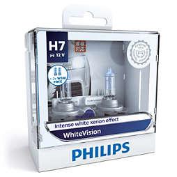 WhiteVision หลอดไฟหน้า