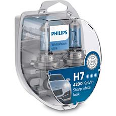12972WVUSM WhiteVision ultra car headlight bulb