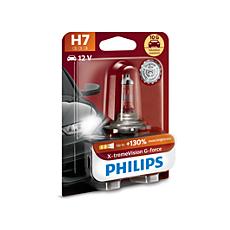 12972XVGB1 X-tremeVision G-force car headlight bulb