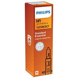 Essential Lâmpada para faróis de 24V