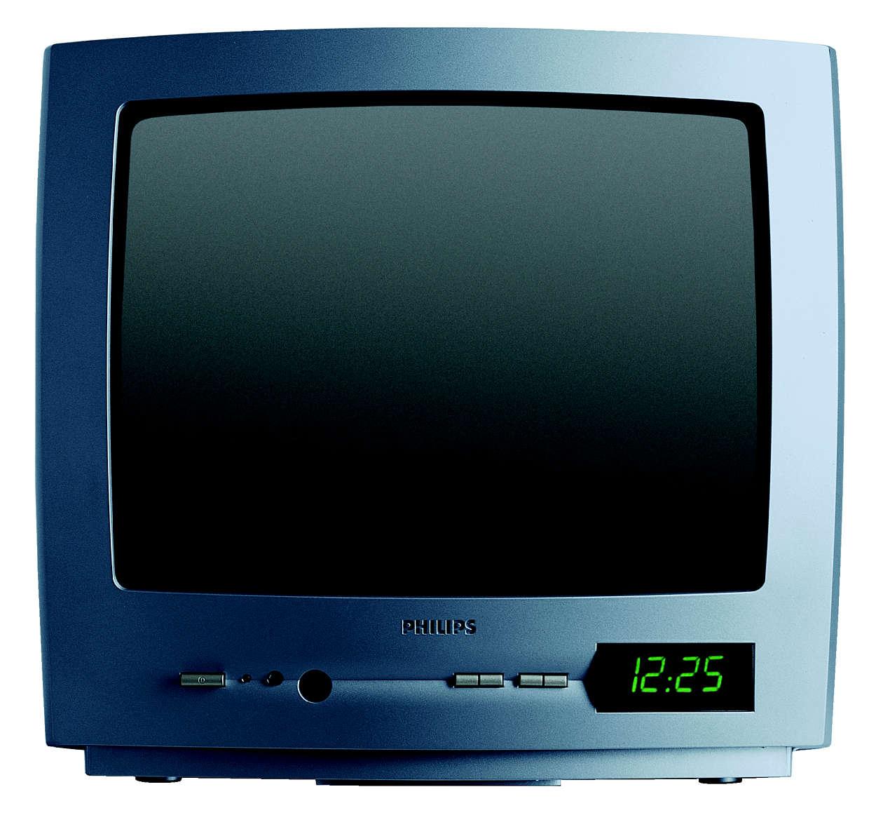 Televisor ProPlus compacto com modo de hotel