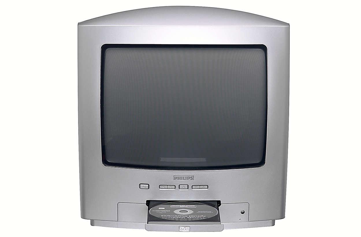 tv dvd combi 14pt6007 05 philips. Black Bedroom Furniture Sets. Home Design Ideas