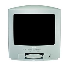 14PT6107I/05  TV – DVD combi
