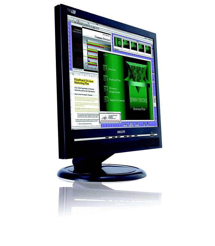 satisfies display requirements of demanding users
