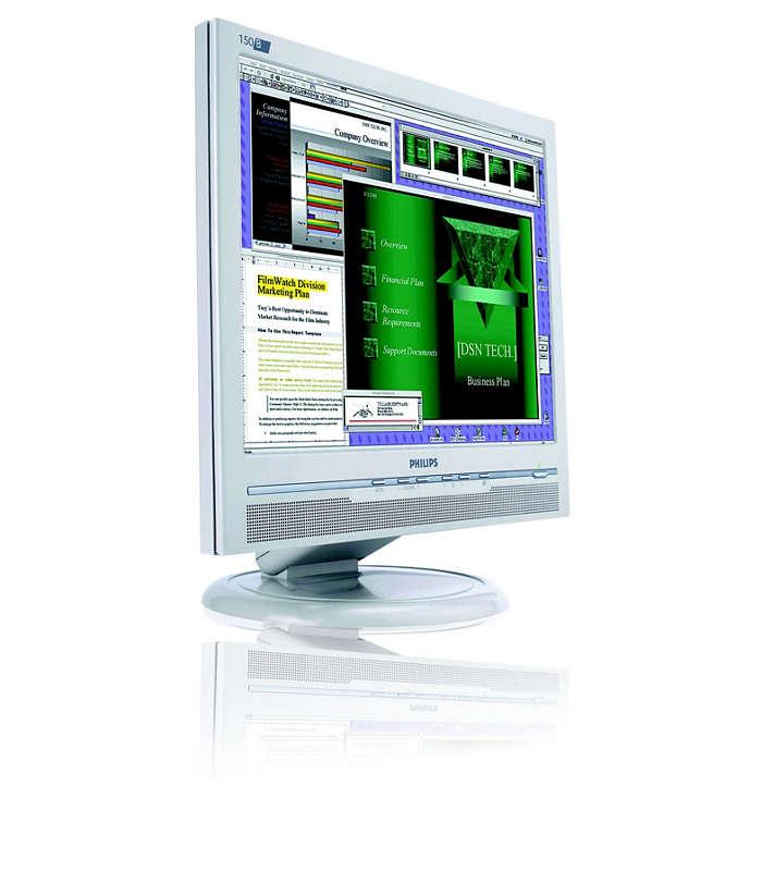 滿足追求完美的使用者的顯示器。