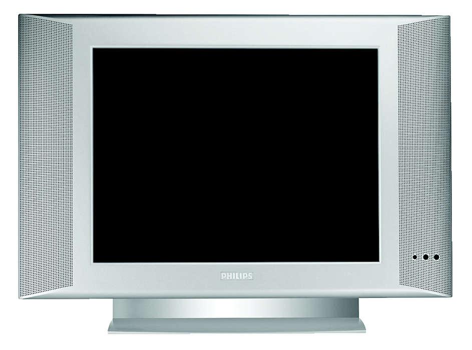 Systemförberedd Platt TV