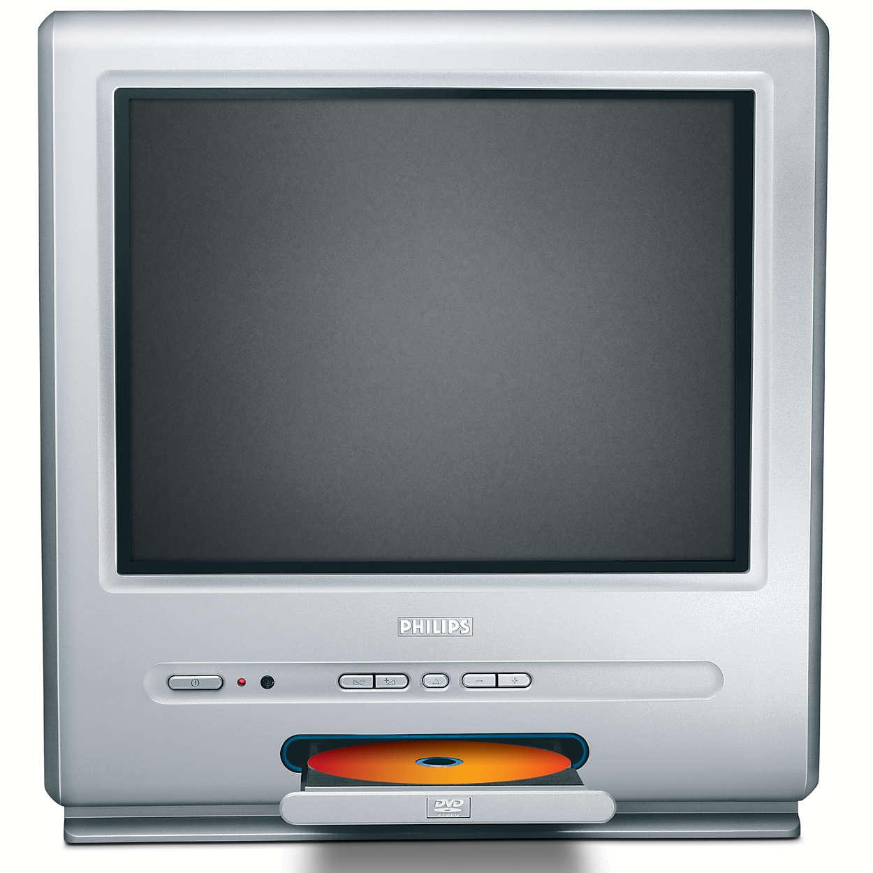 Folkekære TV – DVD combi 15PT6807/01 | Philips JZ-15