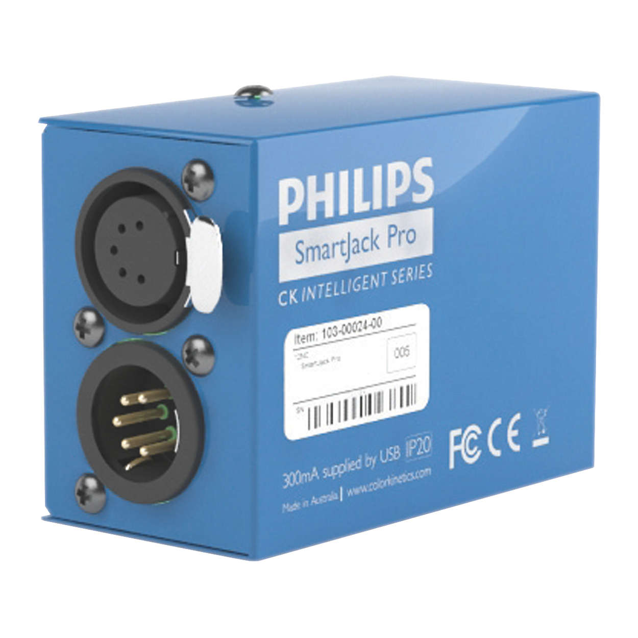 Philips Color Kinetics offers a range of software and hardware tools for addressing, configuring, programming, and commissioning LED lighting systems.