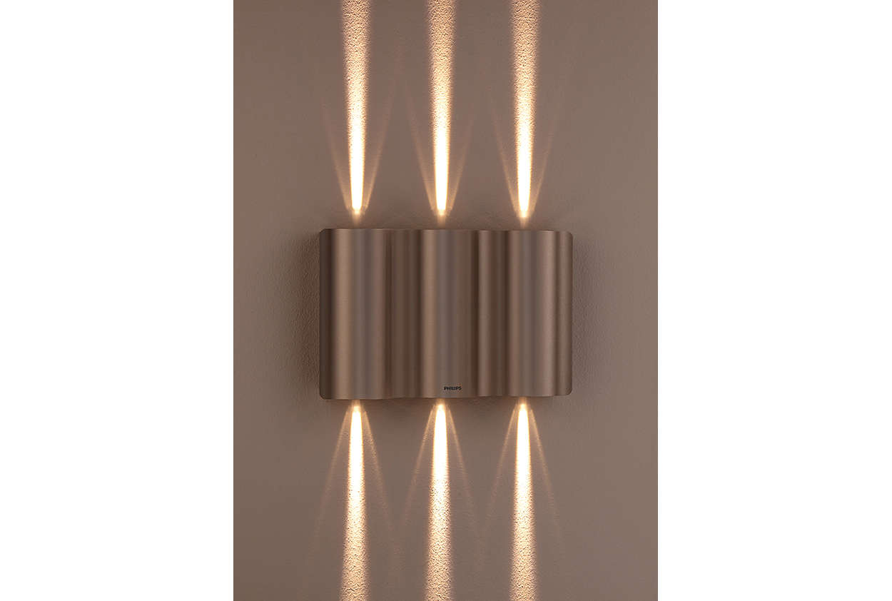 Wall light 168594716 philips light up your outdoor life mozeypictures Image collections