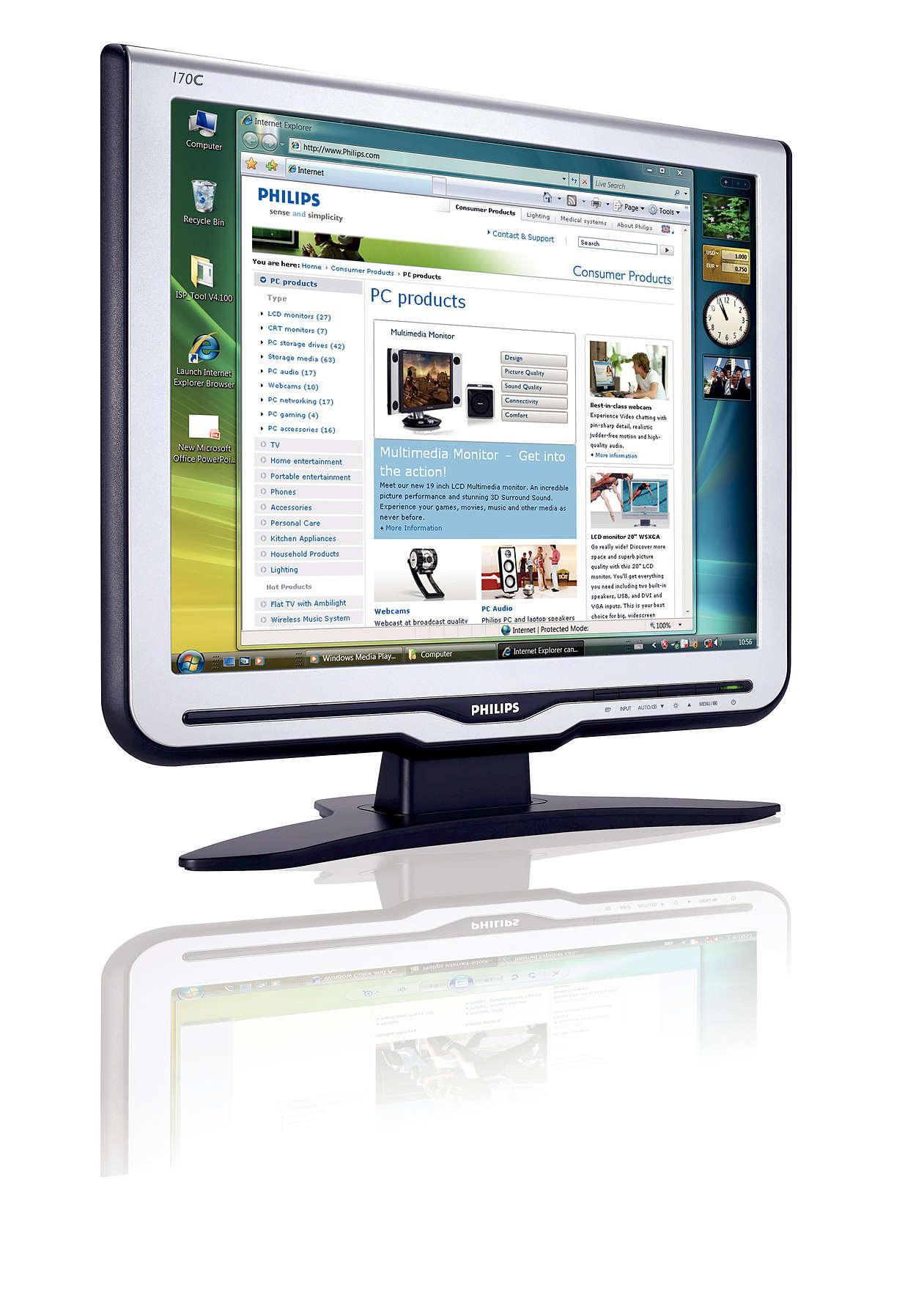 Det bästa inom LCD-skärmar