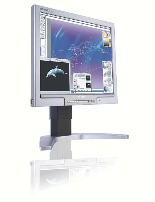 Znakomity monitor dla profesjonalistów